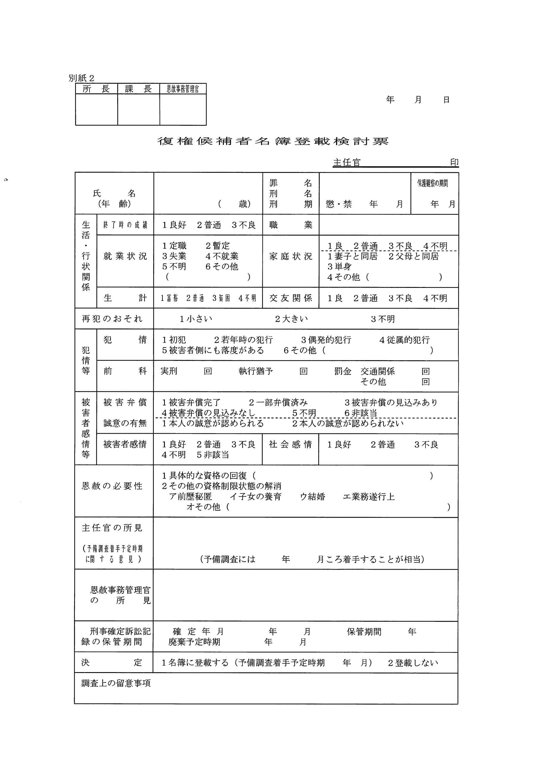 恩赦に関する記事の一覧   弁護士山中理司のブログ